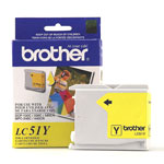 Genuine Brother LC51Y yellow