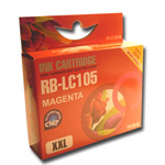 Compatible to replace Brother LC105M magenta