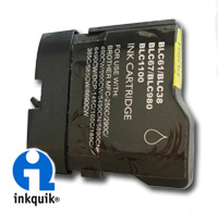 compatible to replace Brother LC61bk