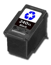 remanufactured Canon PG240XL ink cartridge