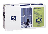 Hewlett Packard Q2613A and Q2613X toner cartridges