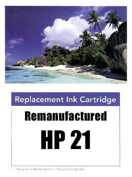 Remanufactured HP 21