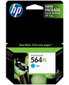 Genuine HP 564XL Large Cyan
