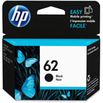HP 62 OEM black ink cartridge