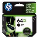 Genuine OEM HP 64XL Black