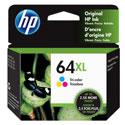Genuine OEM HP 64XL Tri-Color