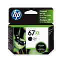 Genuine OEM HP 67XL Black