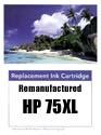 HP 75XL reman