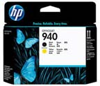HP 940 Black/Yellow Printheads