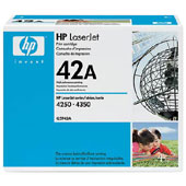 Hewlett Packard Q5942A and Q5942X toner cartridges